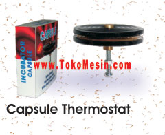 Kapsul Regulator (Thermostat) Mesin Penetas Telur