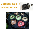 Jual Cetakan Kue 7 Lubang Variasi di Jakarta
