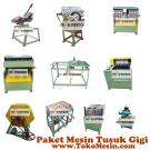 Jual Mesin Tusuk Gigi (Paket Komplit) di Jakarta