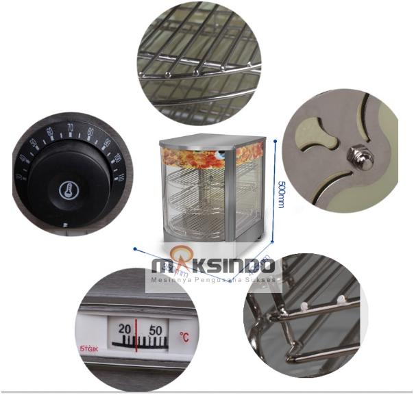 Mesin Warmer Kue dan Makanan-MKS-P01-2-maksindo