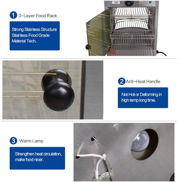 Mesin Warmer Kue dan Makanan-MKS-P01-3-maksindo