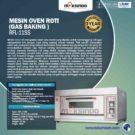 Jual Mesin Oven Roti dan Kue Gas di Jakarta