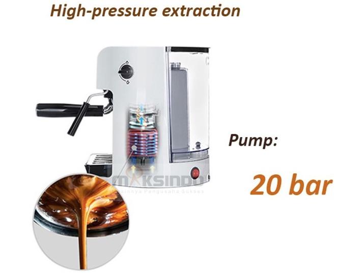 Mesin Kopi Espresso Semi Auto - MKP50-6