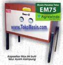 Jual Mesin Penetas Telur Manual 75 Butir (EM-75) di Jakarta