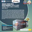 Jual Mesin Oven Gas 2 Loyang (MKS-GO12) di Jakarta