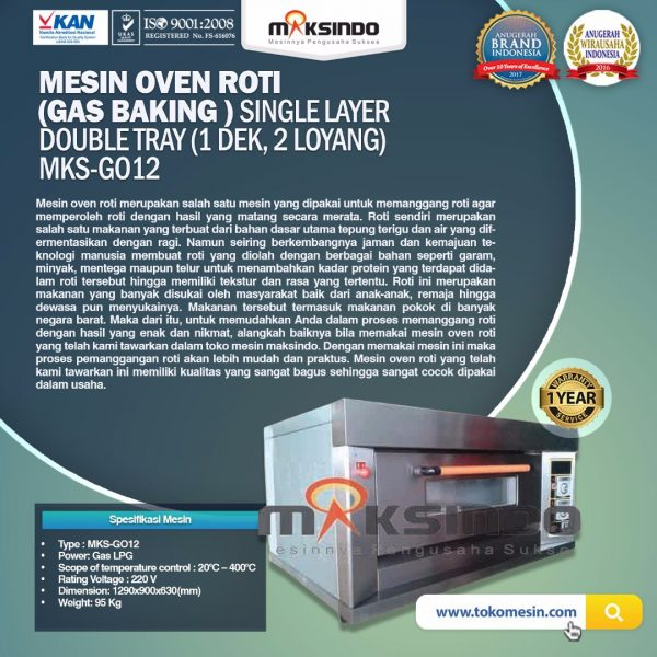 Mesin-Oven-Gas-2-Loyang-MKS-GO12