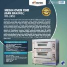 Jual Mesin Oven Roti Gas 4 Loyang (MKS-RS24) di Jakarta