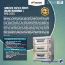 Jual Mesin Oven Roti Gas 6 Loyang (MKS-RS36) di Jakarta