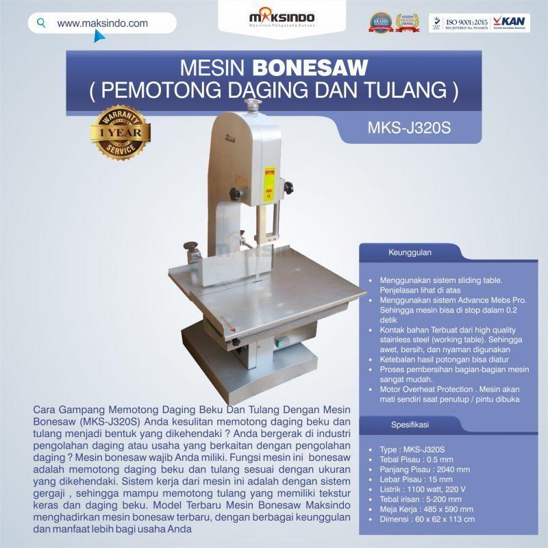 Jual Mesin Bonesaw MKS-J320S (pemotong daging dan tulang) di Jakarta