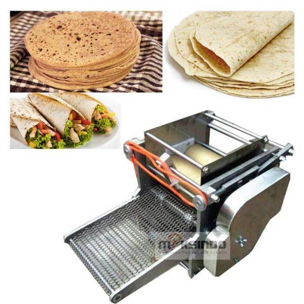 Jual Mesin Roti Tortilla/Pita/Chapati – TRT50 di Jakarta