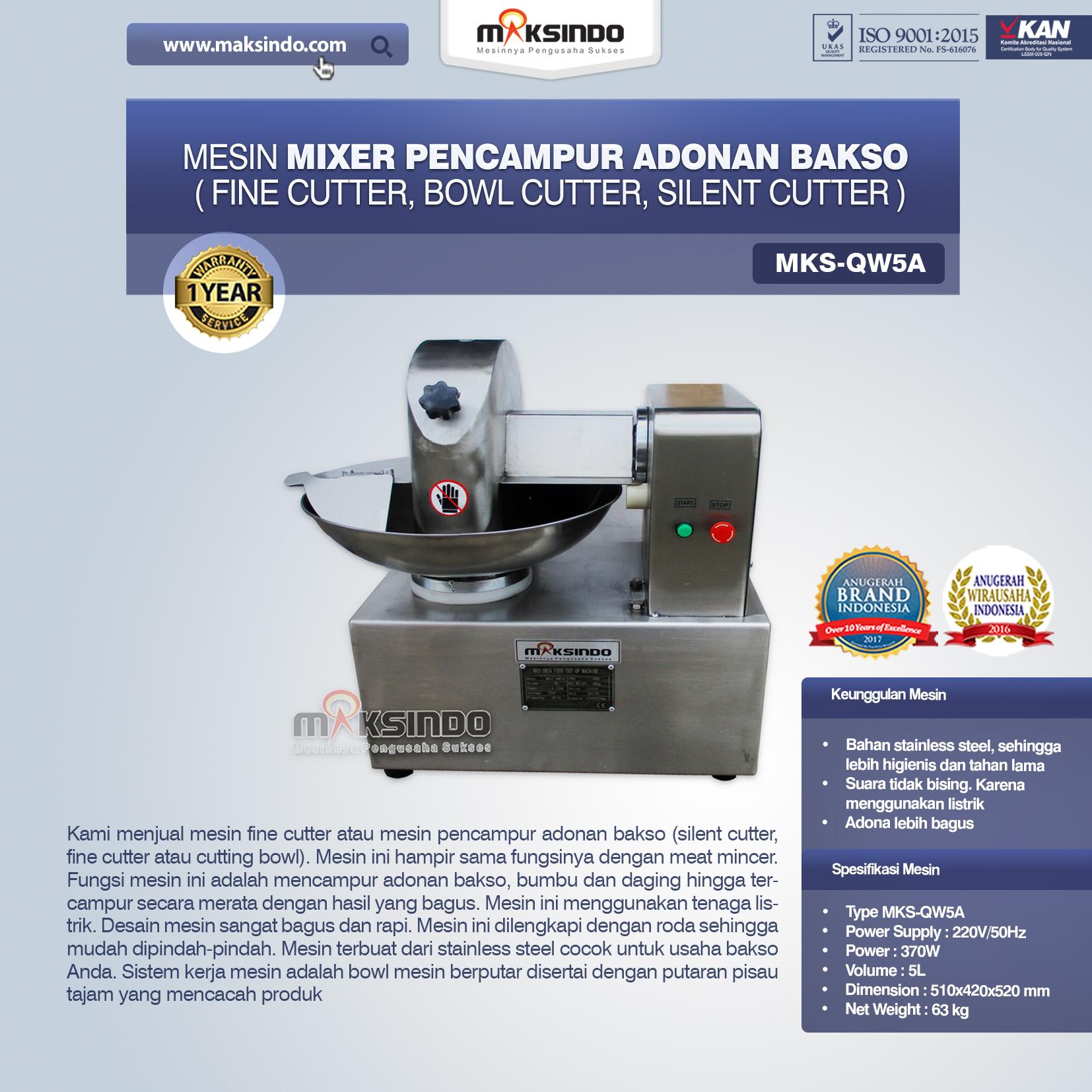 Jual Mesin Mixer Pencampur Adonan Bakso di Jakarta