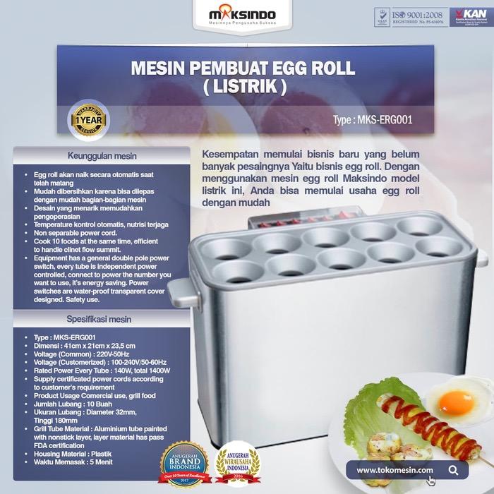 Jual Mesin Pembuat Egg Roll (Listrik) – MKS-ERG001 di Jakarta