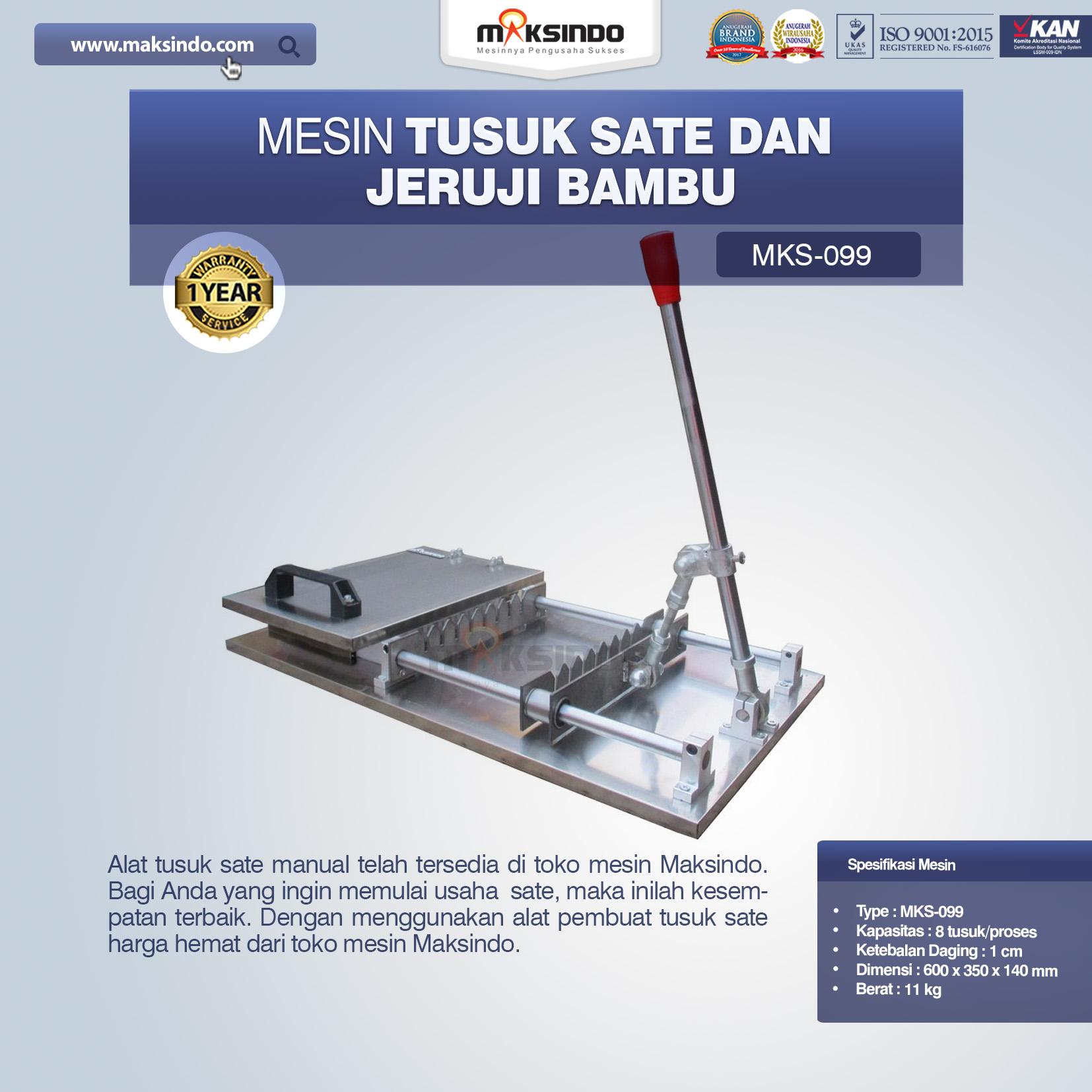 Jual Alat Tusuk Sate ManualMKS-099 di Jakarta