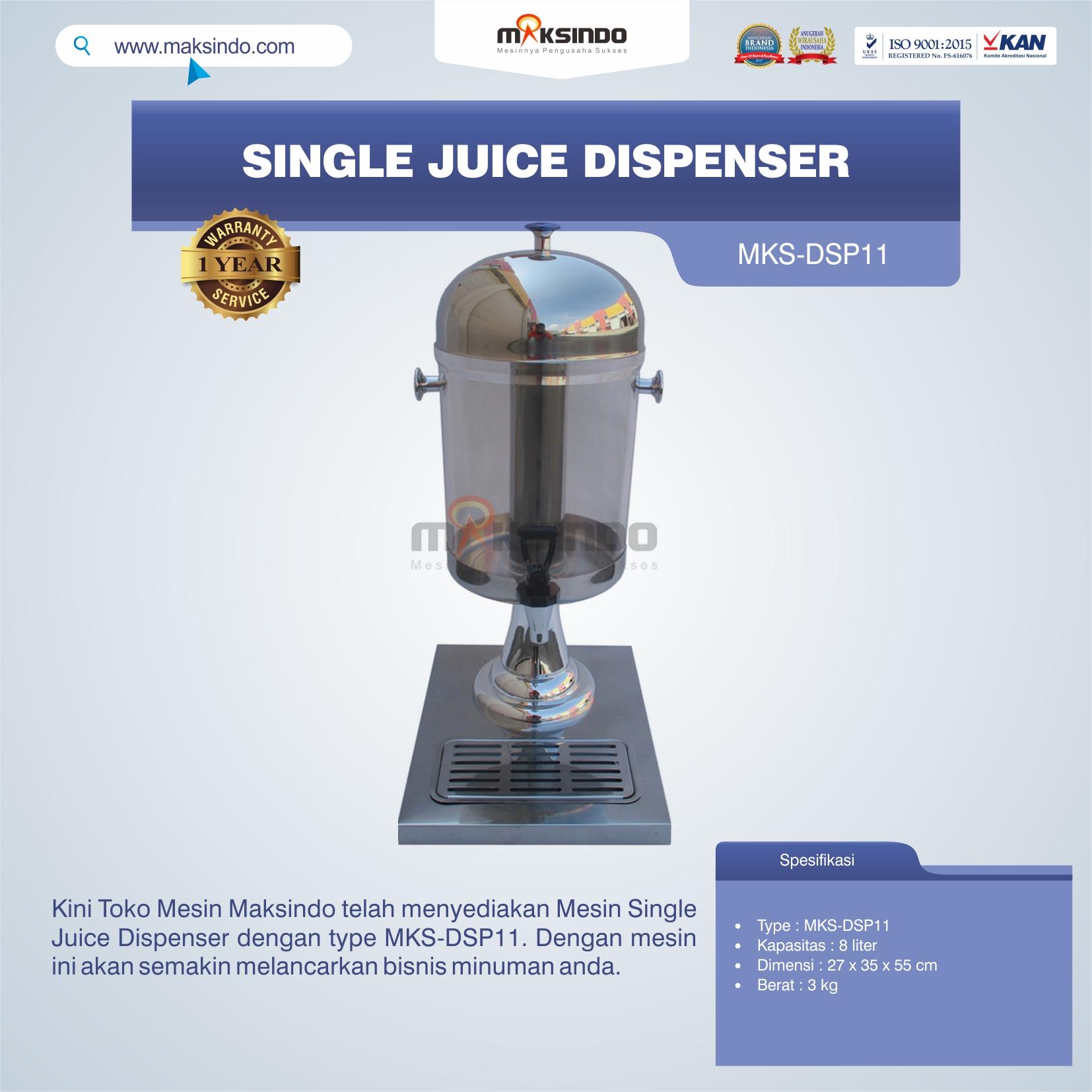 Jual Single Juice Dispenser MKS-DSP11 di Jakarta