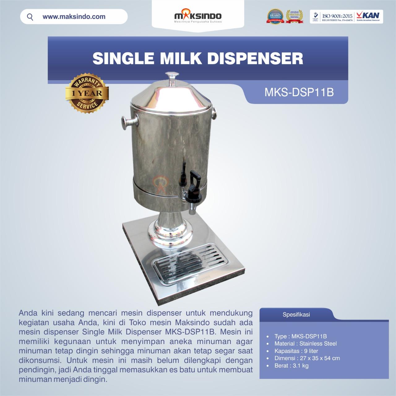 Jual Single Milk Dispenser MKS-DSP11B di Jakarta