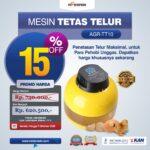 Jual Mesin Tetas Telur 10 Butir (AGR-TT10) di Jakarta