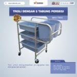Jual Troli Dengan 5 Tabung Persegi MKS-TRY5 di Jakarta