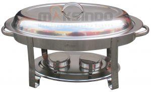 Jual Oval Chafing Dish 5 Liter di Jakarta