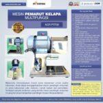 Jual Mesin Pemarut Kelapa Multifungsi AGR-PRT30 di Jakarta