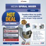 Jual Mesin Mixer Roti SPIRAL MKS-HS20A Di Jakarta