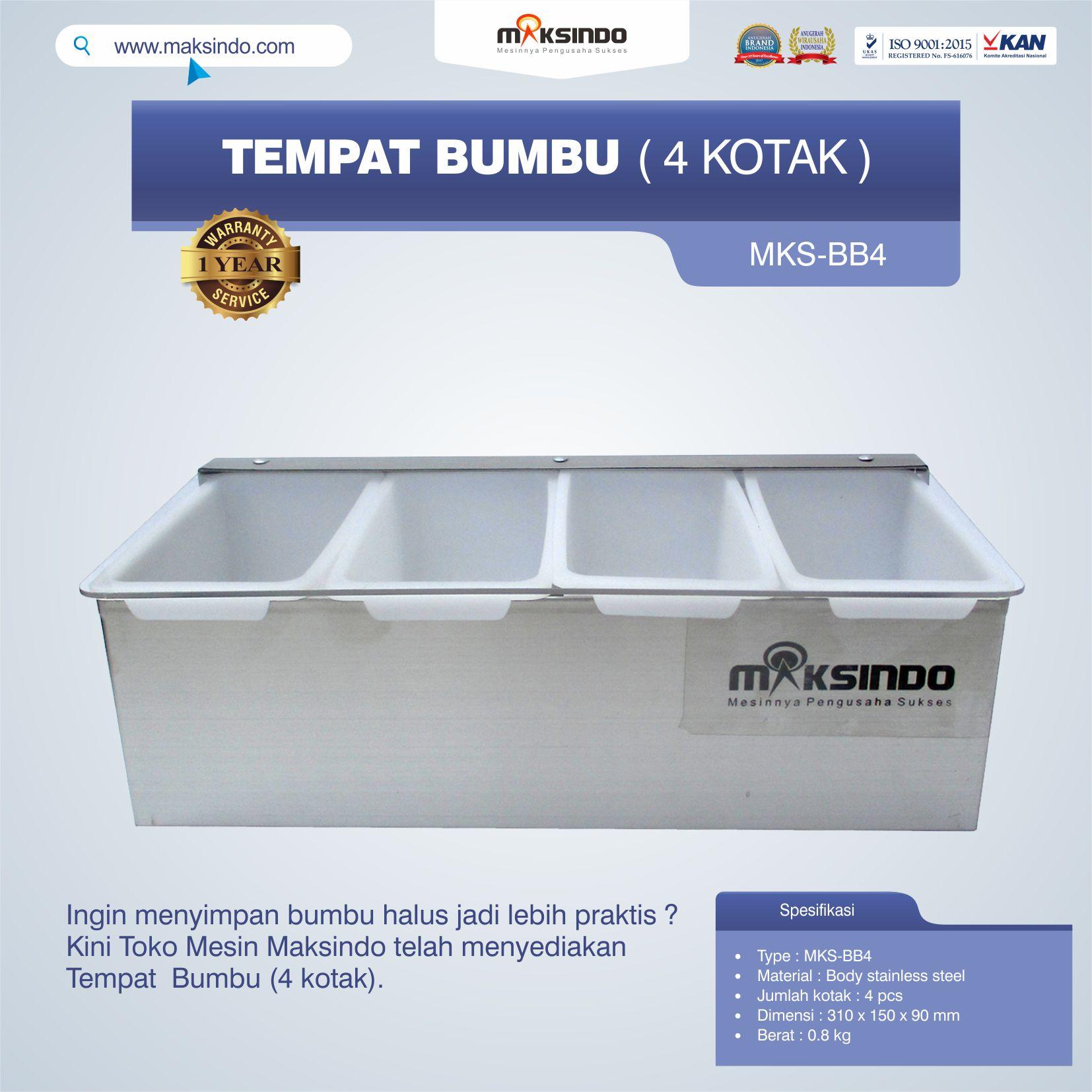 Jual Tempat Bumbu (4 kotak) di Jakarta