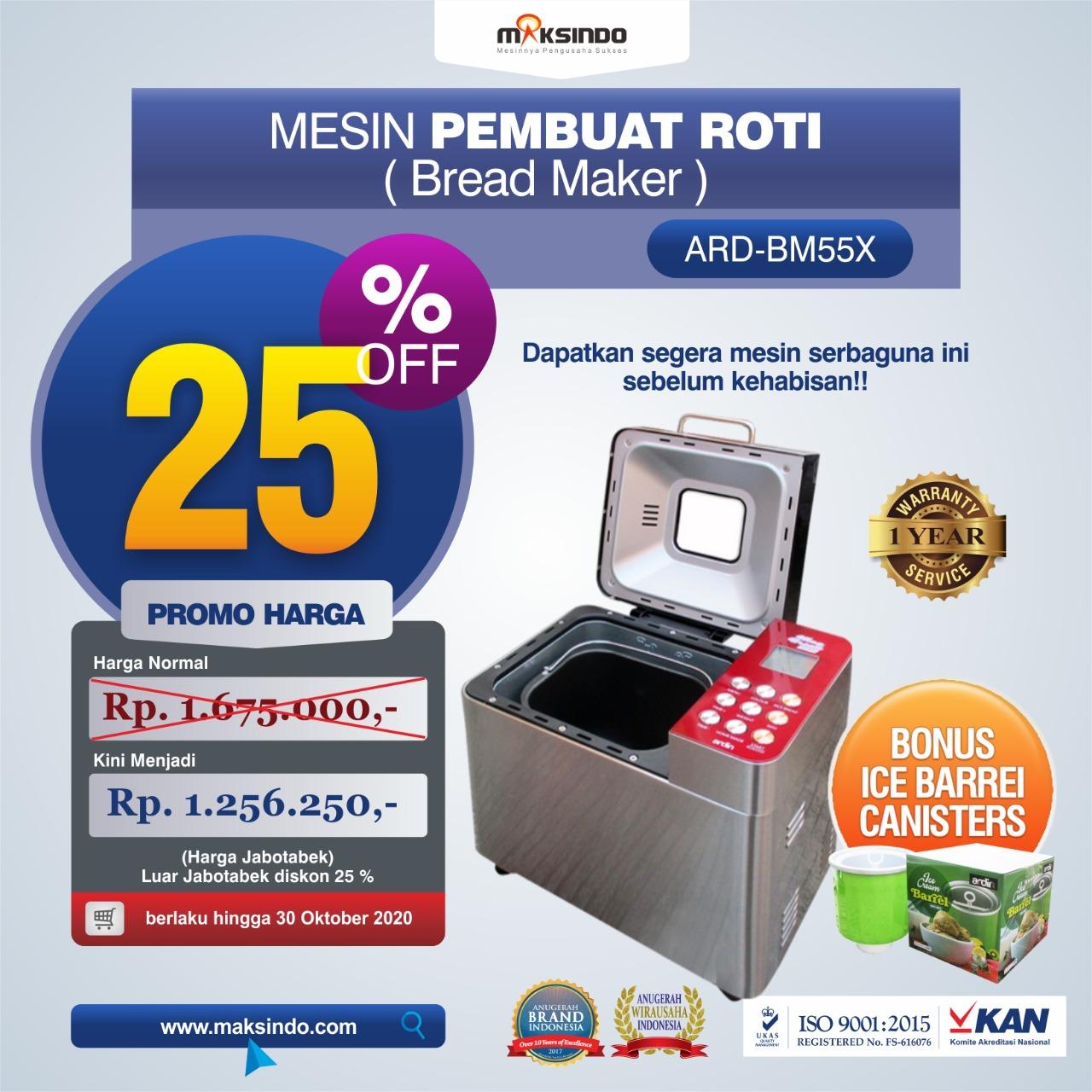 Jual Mixer dan Pembuat Roti (Bread Maker) ARD-BM55X di Jakarta