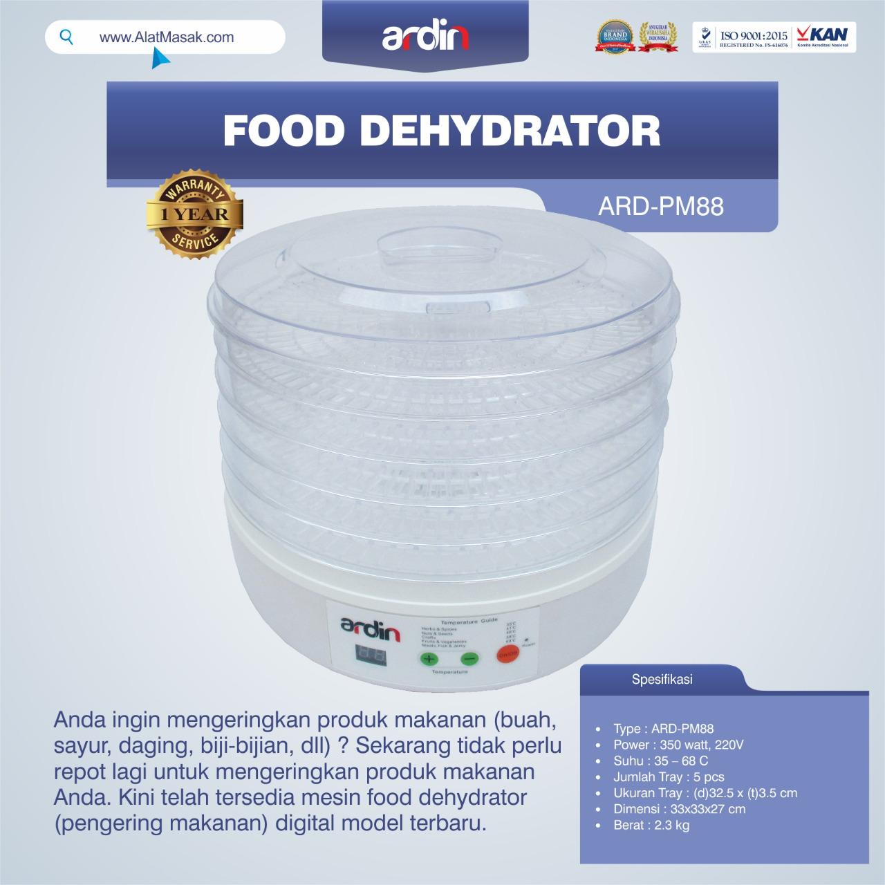 Jual Food Dehydrator ARD-PM88 di Jakarta